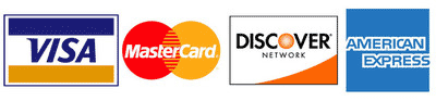 Credit cards accepted at EZ Brite Lights headlight restorations.